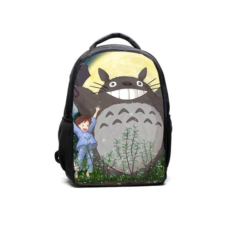 Hot My Neighbor Totoro Plush Backpack Student School Bag Wholesale Kid Fashion Kawaii Children Growth Education Prerequisites(China (Mainland))