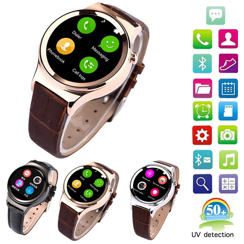 Hot New Arrival Smart Watch T3 Smartwatch Support SIM SD Card Bluetooth WAP GPRS SMS MP3 MP4 USB For iPhone And Android YXF108