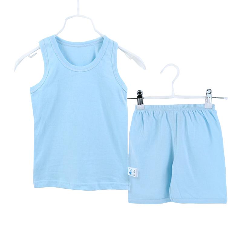 2 Pcs/Set Summer Baby Boy Girl Clothes Sleeveless Romper Cotton Soild Printed Newborn Next Jumpsuits Bebes Rompers(China (Mainland))