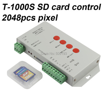 TM1804/LPD6803/DMX512/WS2811  DC5-24V RGB Pixel Controller for  Pixel led lights,MAX control 2048pcs IC+2015Version Software