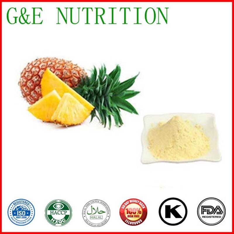 2015 Natural China Supplier Food and Beverage No Pigment Pineapple Powder 10:1 200g(China (Mainland))
