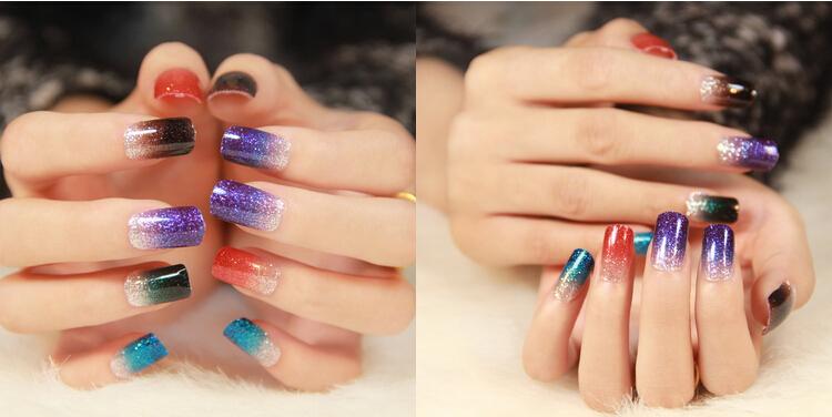uv Gel Colorful Glitter