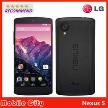Original Refurbished Unlocked LG Nexus 5 D820 D821 cell phone GPS Wifi NFC Quad Core 2GB