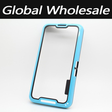 50 pcs/lot Types Of Covers Mobile Frame Bumper Soft TPU Protective Case For Blackberry A10 Shockproof Bumper Free Shipping