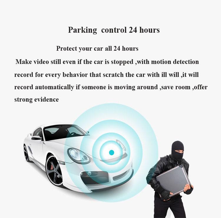 free shipping parking control car black box camera car dvr with CE certificate(China (Mainland))