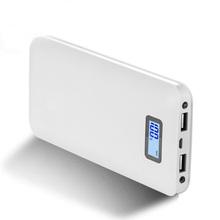 Dual USB Power Bank 20000mAh Mobile Phone Power Bank External Battery for Samsung iPhone Xiaomi 20000 Powerbank Portable Charger