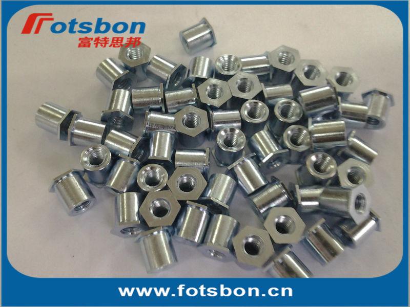 TSO-440-750 Thin sheet t Standoffs ,Threaded standoffs for sheets thin as 0.25/ 0.63mm,PEM standard,carbon steel,zinc,<br><br>Aliexpress