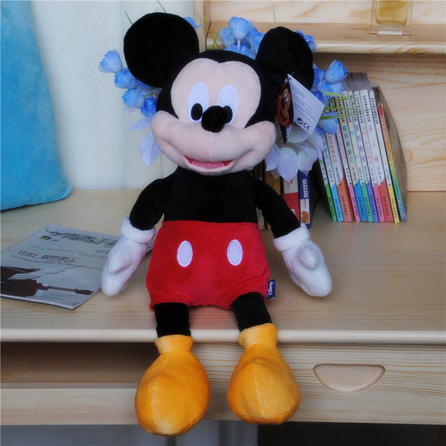40cm hot sale High quality new Lovely Mickey Mouse Plush Toy Minnie Doll Christmas birthday gift