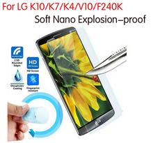 Premium Nano Explosion-proof Soft Protective Film Cover Foil LG K8 K10 K4 K7 V10 F240K Screen Protector Glass - Acc4Mobiles store