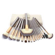 Hot Selling 18PCS Professional Makeup Cosmetic Brush Tool  Blush Brush Eyeliner Eye Shadow Brow Lip Brush Set