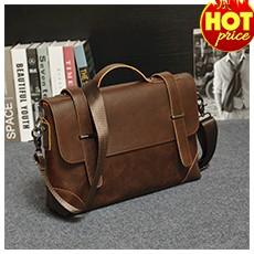 PUNKLADY New 2016 women famous brands cow leather brown envelope mini messenger bag vintage luxury cross body shoulder bags
