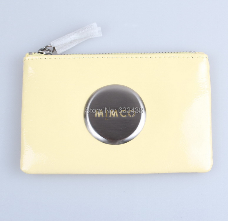 MIMCO SMALL POUCH MIMCO LOVELY SMALL POUCH YELLOW COLOR MIM POUCH(China (Mainland))