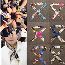 New 2016 Small Ribbon Twilly ribbon tied Scarves Clothing Accessories Wraps Womens(China (Mainland))