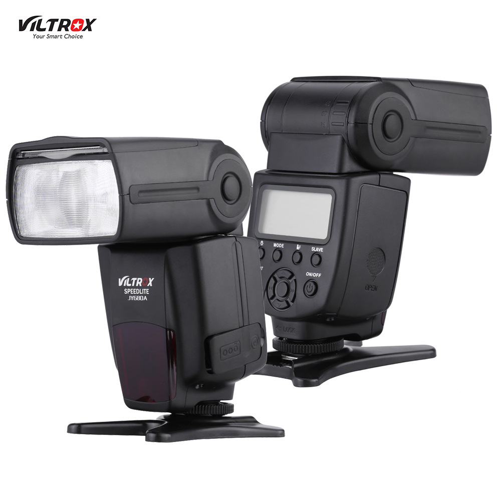 Viltrox JY680A On-camera GN33 Speedlite Flash Light for Canon Nikon Sony Pentax DSLR Camera with LCD Screen and Backlight(China (Mainland))
