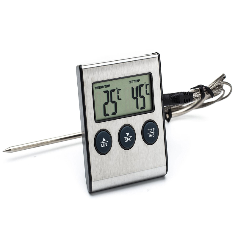 Instant Read Digital Barbecue Meat Thermometer With Probe For Beef,Pork,Chicken,Turkey&For BBQ/Grill/Roast,Kitchen Cooking&Water(China (Mainland))
