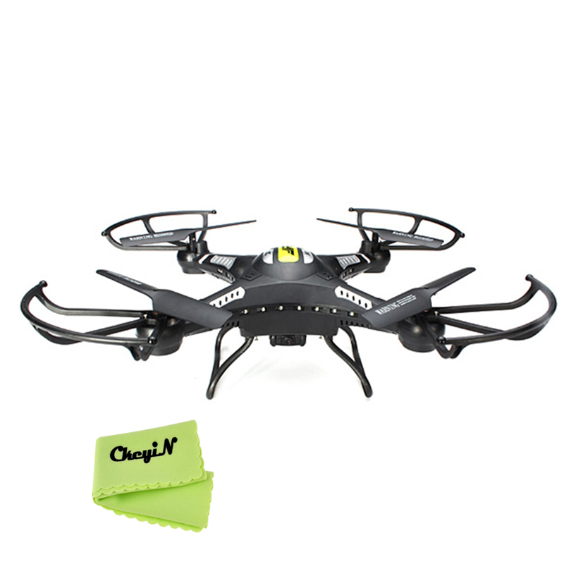 Professional 2 4G 4CH 6 Axis Mini RC Drone Remote Control RC Helicopter Quadrocopter with 2MP