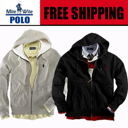 New 2015 Polo Men's Zipper cardigan Sport hooded hoodies Fashion Coats Jacket Sportswear sweatshirts Plus size S-XXL(China (Mainland))