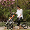 Folding 3 Wheels Fashion Mother Baby Bike Strollers Carrier Bicycle Carrinho Aluminium Alloy Taga Baby Stroller