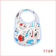 HziriP nuevo Baberos de bebé Toalla de Saliva Impresión de dibujos animados impermeable ropa de eructo infantil alimentación niñas niños Baberos Venta caliente(China)