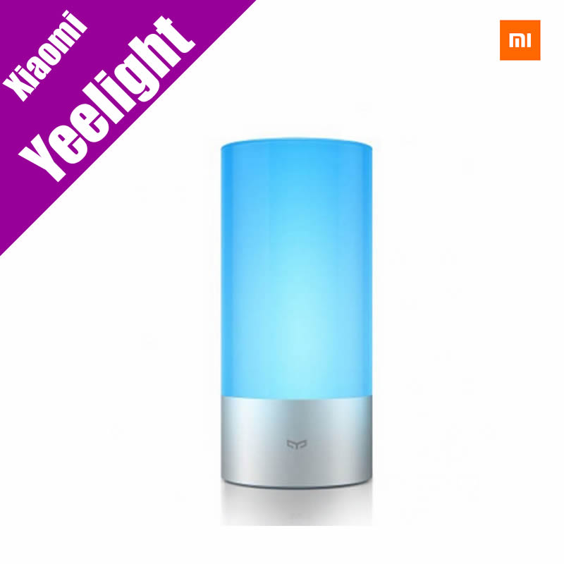 Original Xiaomi Yeelight Indoor Night Lights Bed Bedside Lamp 16 Million RGB Touch Control Support Mobile Phone App Control<br><br>Aliexpress