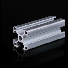 Aluminum Profile 3030 Extrusion Pipe grade 6063 L=500mm Free shipping All Sizes in Stock(China (Mainland))