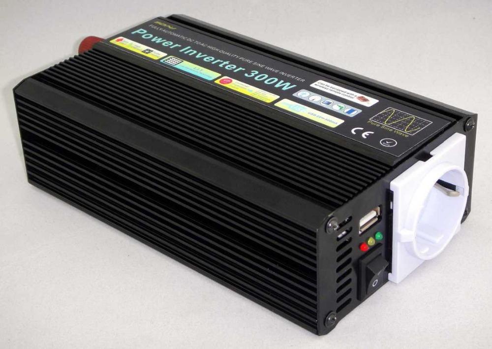 300W Pure Sine Wave Power Inverter 12V 220V(China (Mainland))