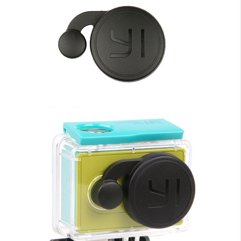 Protective Lens Cap For Xiaomi Yi Accessories Xiaomi Sports Action Camera Waterproof Housing Case Cover