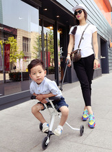 Children's folding bike Folding tricycles Stroller 18 months to 72 months(China (Mainland))