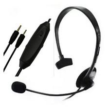 Con un sólo oído Wired Gaming Auriculares Auriculares para Sony Playstation 4 PS4 Xbox 360 UNID Juego con Micrófono/Volumen Control