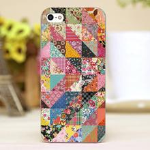 Beautiful Flowers puzzle Design Customized transparent case cover cell mobile phone cases for iphone 6 6plus hard shell