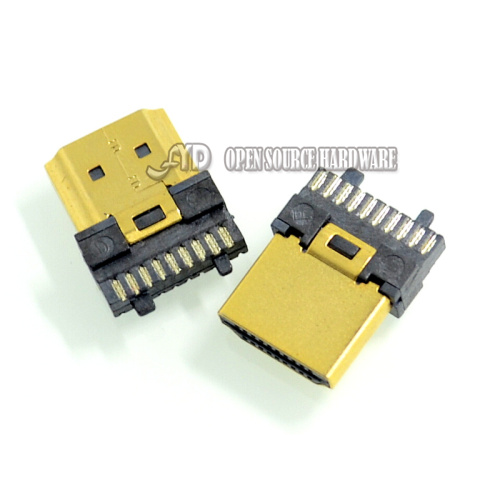 HDMI male wire -type gold-plated steel U- P -computer connected HD TV HDMI connector series(China (Mainland))
