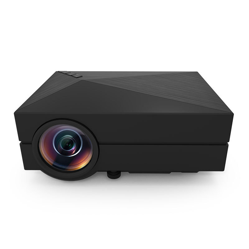 Здесь можно купить  Drop shipping Cheap GM60 800*480 Mini LCD Portable LED pico Projector with VGA micro HD video game projectors proyector HDMI USB  Бытовая электроника