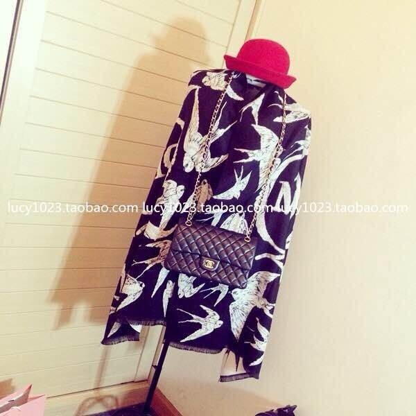 2015 Winter Brand Designer Women Scarf Double Light Style Chiffon Scarves And Long Shawl(China (Mainland))