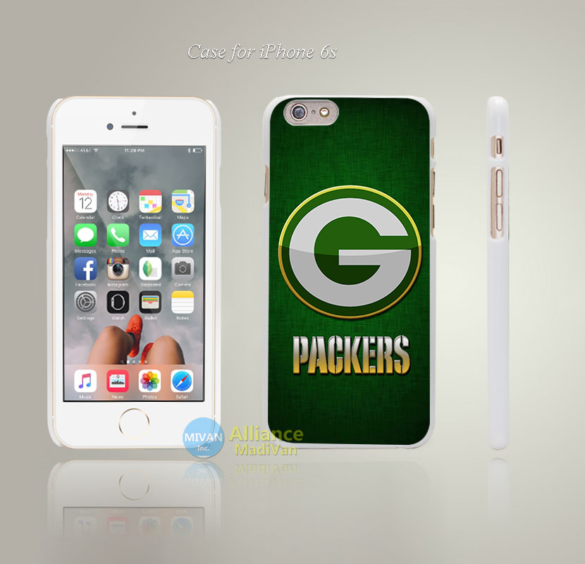 Green Bay Packers G Style Hard White Case Cover Coque for iPhone 4 4s 4g 5 5s 5g 5c 6 6s 6 6s Plus(China (Mainland))