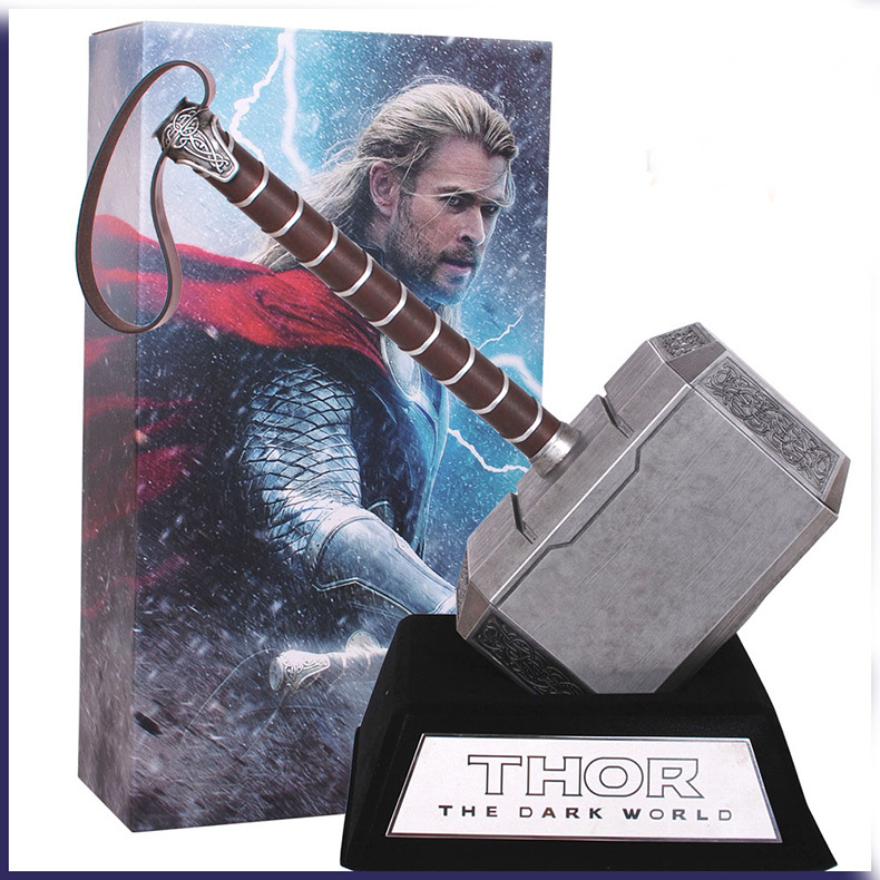 Фигурка героя мультфильма Toys Daddy 2015 43 brinquedos The Dark World Thor Hammer Powerful Weapon Base Set Cosplay Toys  фигурка героя мультфильма toys daddy 12 marvel funko brinquedos 12cm marvel funko pop loki gold helmet pvc the dark world thor