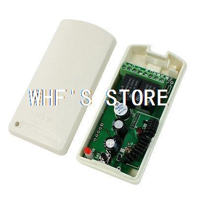 DC 12V 2 Channel Lighting Wireless RF Remote Control Switch Receiver Module(China (Mainland))