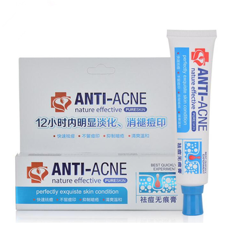 2016 New Face Skin Care Acne Treatment Face Care Acne Scars Cream Anti Acne Removal Gel Whitening Moisturizing Day Cream 30g(China (Mainland))