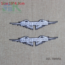 Buy SK DIY Patches 5 pcs Fashion embroidered badge patch size 19x4.3cm Iron garment Appliques accessory free ja for $9.44 in AliExpress store