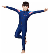Free Shipping swimming dress Kids boys girls snorkeling clothing children's sun protection clothing child diving suit wetsuits(China (Mainland))