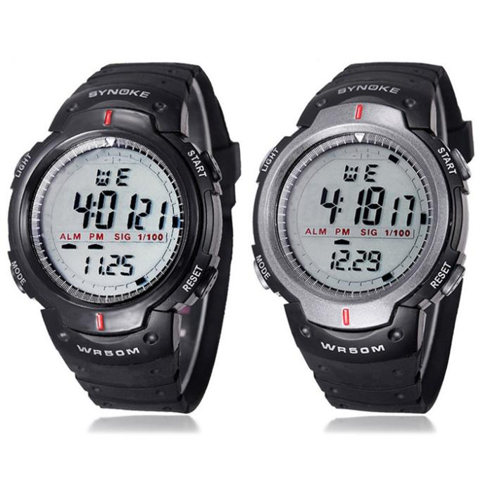 Sanwony New Arrival Outdoor Sports Men Digital LED Quartz Alarm Date Wrist Watch Free shipping&Wholesale(China (Mainland))