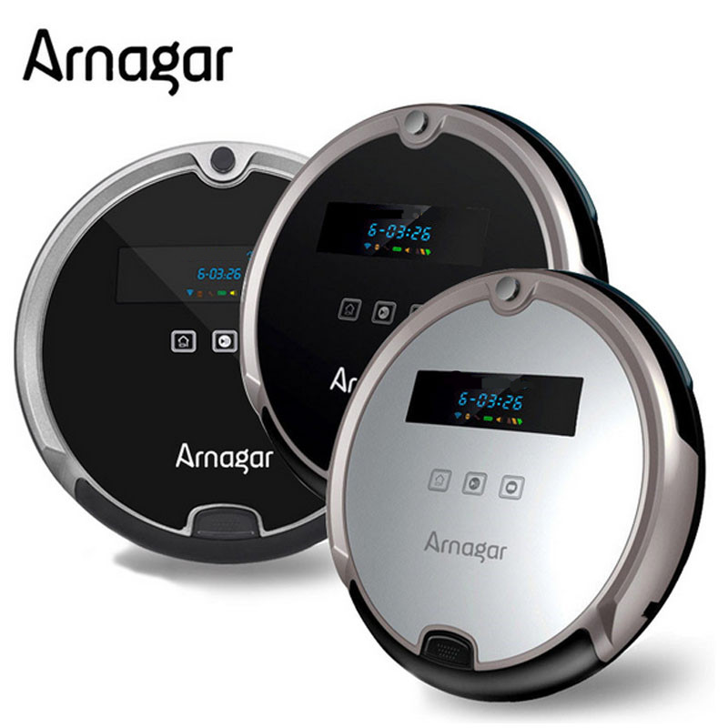 Arnagar R8-F Vacuum Cleaner For Home Vacuuming Mop,500ml dustbin,Air Filter,Touch Screen Wireless Robot Vacuum Cleaner(China (Mainland))