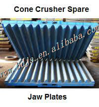 metso fixed jaw plates of metso c105 jaw crusher spare parts mining machinery(China (Mainland))