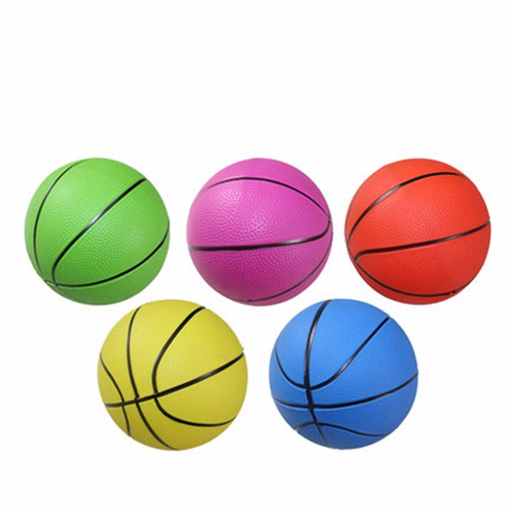 Inflatable PVC Basketball Volleyball Beach Ball Kid Adult Sports Toy Random Color 1 Pc Mixed Sizes 10cm/15cm/20cm(China (Mainland))