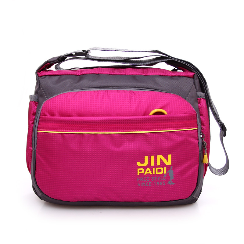 Preppy style outdoor sport bag Brand waterproof nylon messenger bag Candy color mother package Fresh womens crossbody bag<br><br>Aliexpress