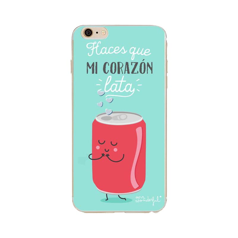 Mr Wonderful Tpu Phone Cover Fundas For Iphone 5 5s Se 6 6s Plus Case Series Cartoon Soft Silicone Back Cases