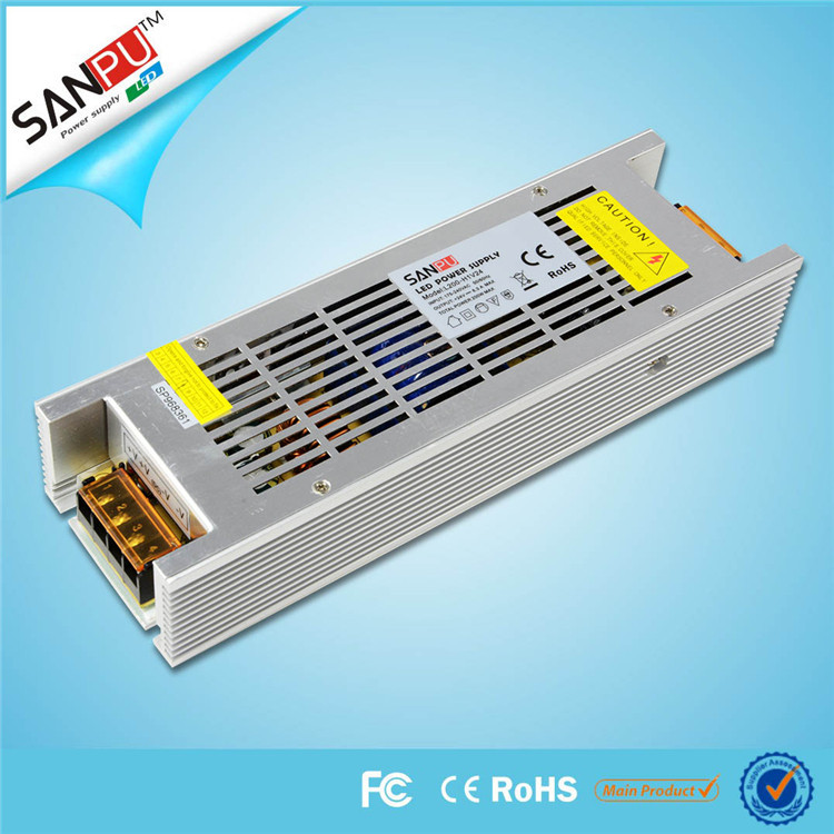 SANPU SMPS 24v 200w LED Power Supply 8a Constant Voltage Switching Driver 220v ac/dc Lighting Transformer(China (Mainland))