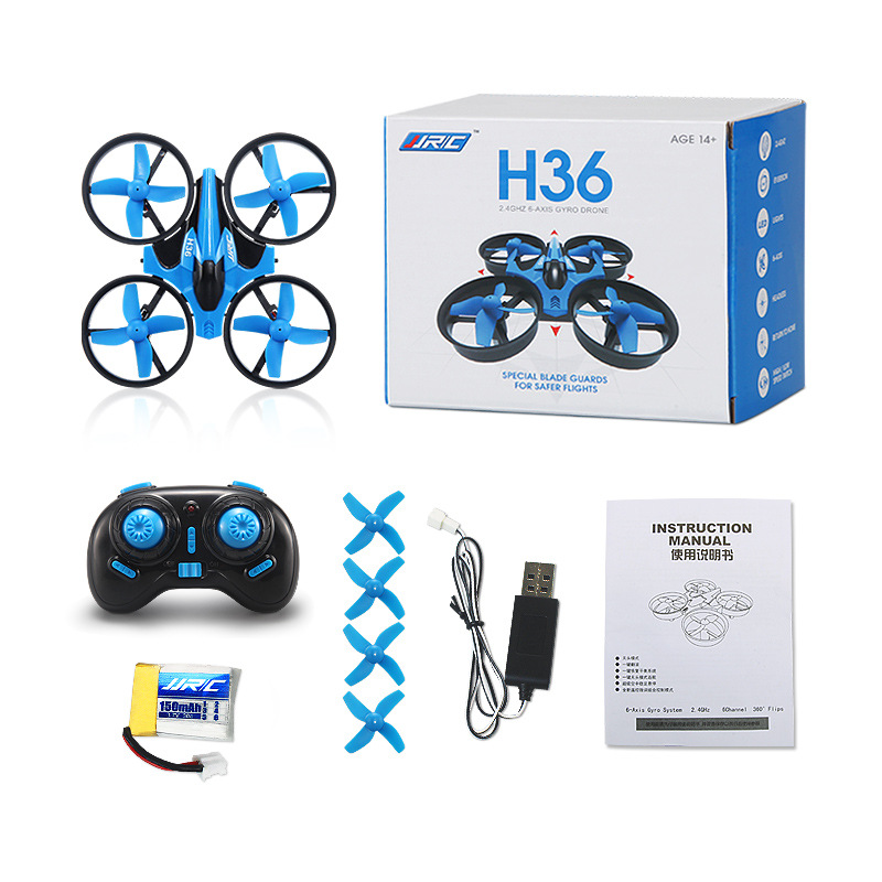 Original JJRC H36 Mini Drone 2.4G 4CH 6 Axis Rc Micro Quadcopters Helicopter With Headless Mode One Key Return Function Best Toy(China (Mainland))