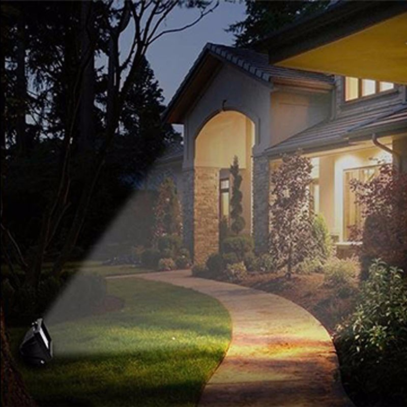 Solar Home Lighting System Floodlight 30 LED Outdoor Light Solar Flood Light Landscape Lamp for Lawn Garden Road Hotel Pool Pond