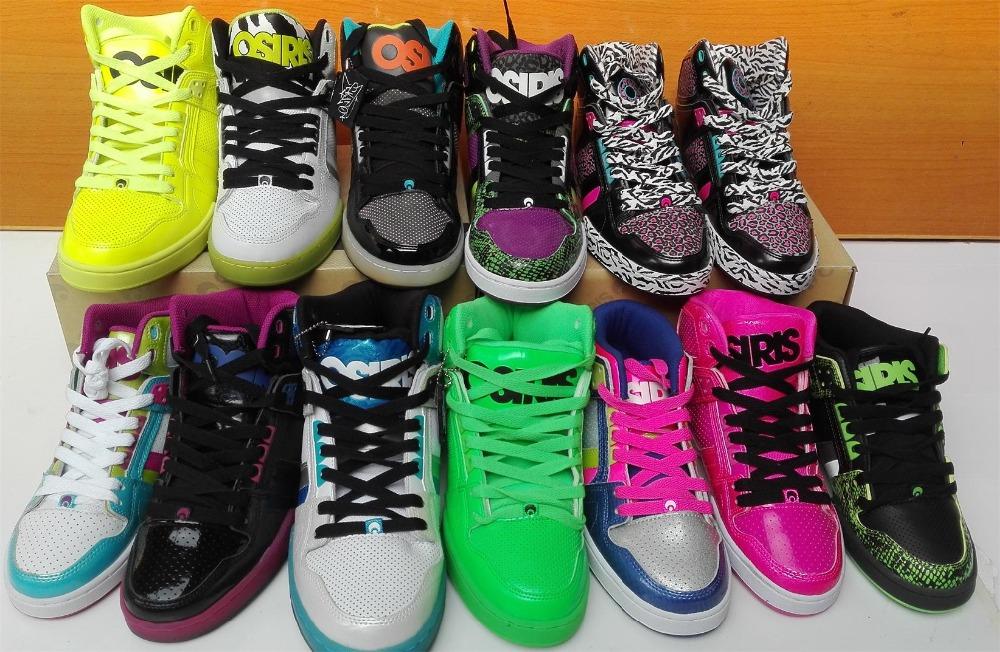 Designer skate sneakers