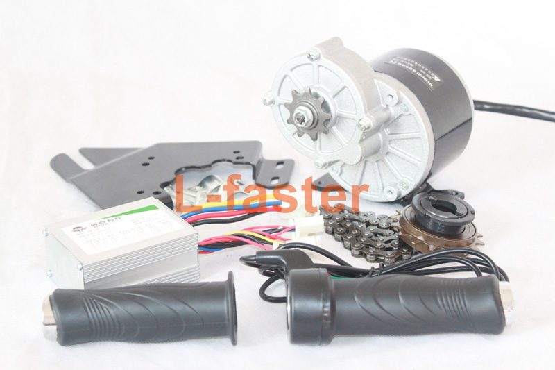 24V36V 350W ELECTRIC MOTOR KIT ELECTRIC SCOOTER CONVERSION KIT DIY E-BIKE HOMEMADE ELECTRIC BIKE L-FASTER EBIKE MOTOR(China (Mainland))